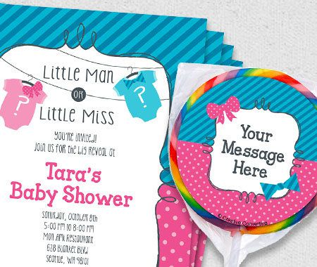 Themes, Baby Shower, Party, Personalization