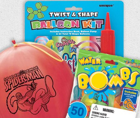 Balloons, Balloon Games, Balloon Kits,Party, Favors