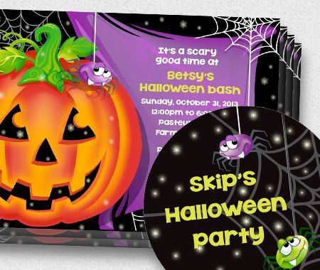 Themes, Halloween, Party, Personalized