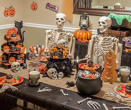 Themes, Halloween, Party, Decorations, Skeletons
