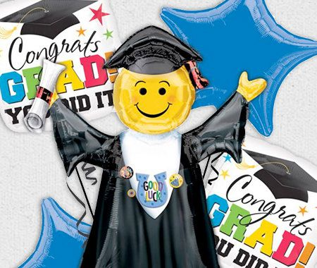 Party Themes, Graduation, Balloons