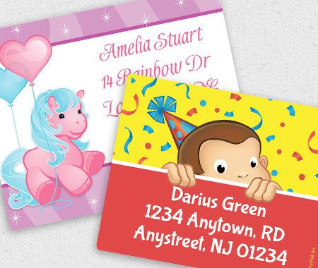 Personalization, Sticker, Party, Address Labels