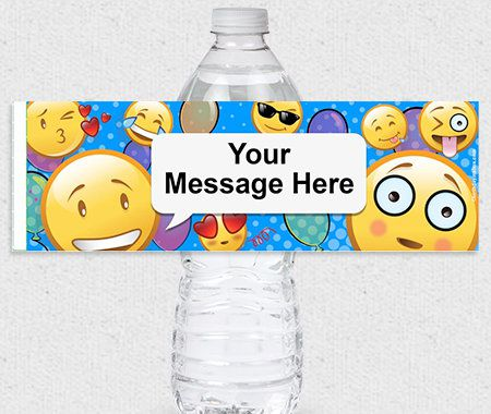 Personalization, Party, Stickers, Water Bottle Lables