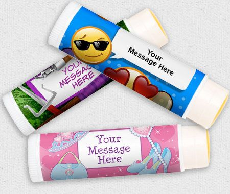 Favors & Gifts, Party, Personalization, Lip Balm