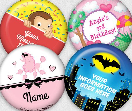 Favors & Gifts, Party, Personalization, Magnets