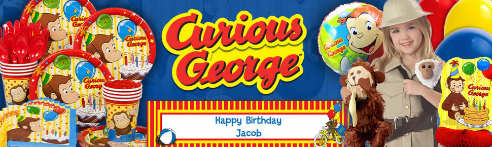 Curious George Birthday
