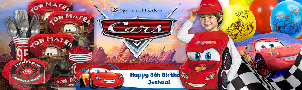 Disneys Cars Party Ideas Birthday In A Box