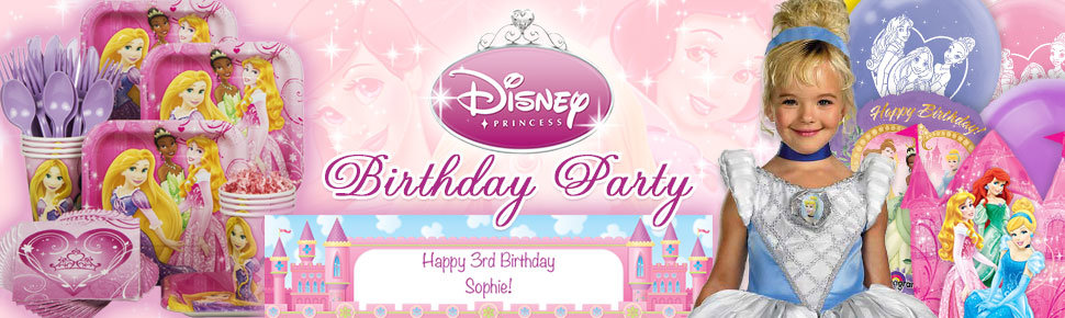Disney Princess 1st Birthday Party Ideas