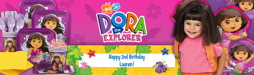 Dora the Explorer Party Ideas Toddler Parties at Birthday in a Box