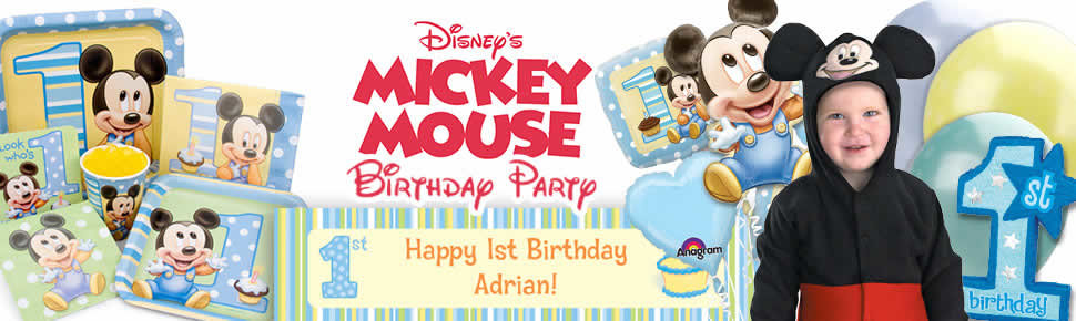 Mickey's 1st Birthday