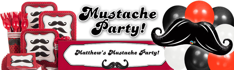 mustache party ideas - Mustache Party Invitations