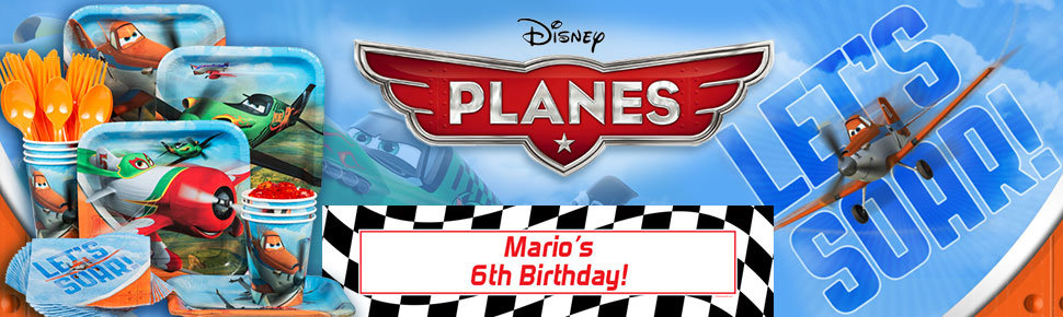 Disney Planes Party Ideas