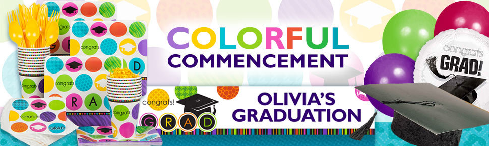 Colorful Commencement