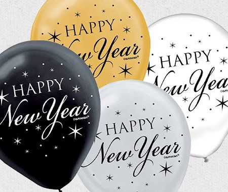 Party Themes, New Years, Balloons
