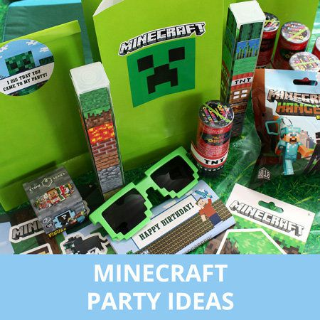 Minecraft, Party Ideas