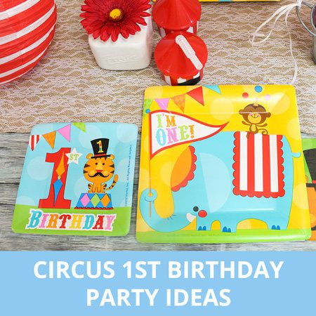 Party, Parirthday, Circus ty Ideas, 1st B