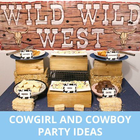 Party, Party Ideas, Kids, Cowboy, Cowgirl, Western, Wild West
