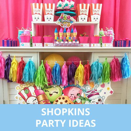 Party, Party Ideas, Kids, Shopkins