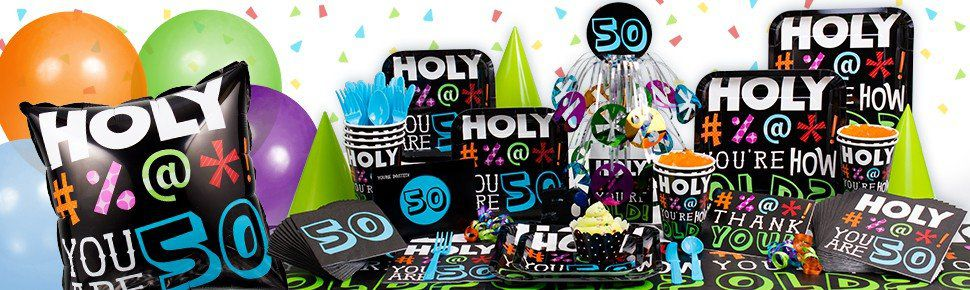 Holy Bleep - You are 50