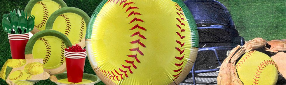 Softball Kids Party Ideas