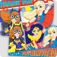 Dc Superhero Girls Party Ideas Birthday In A Box