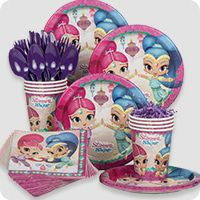 Shimmer And Shine Ideas Shimmer And Shine Kids Party Supplies For