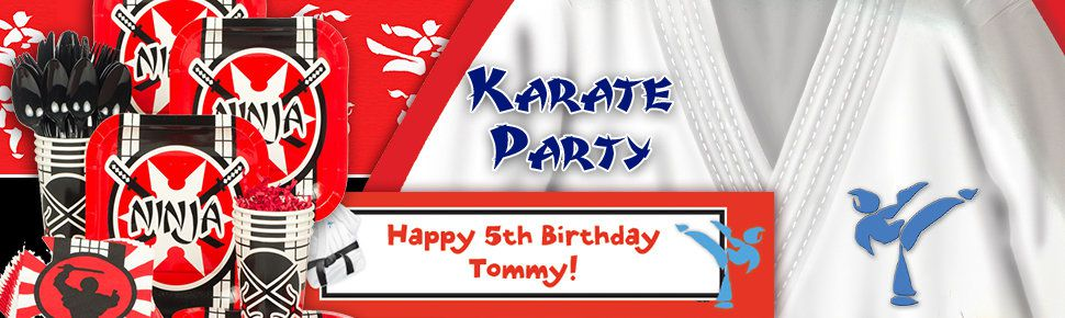 Karate Party Ideas