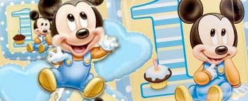 Mickey 1st Birthday
