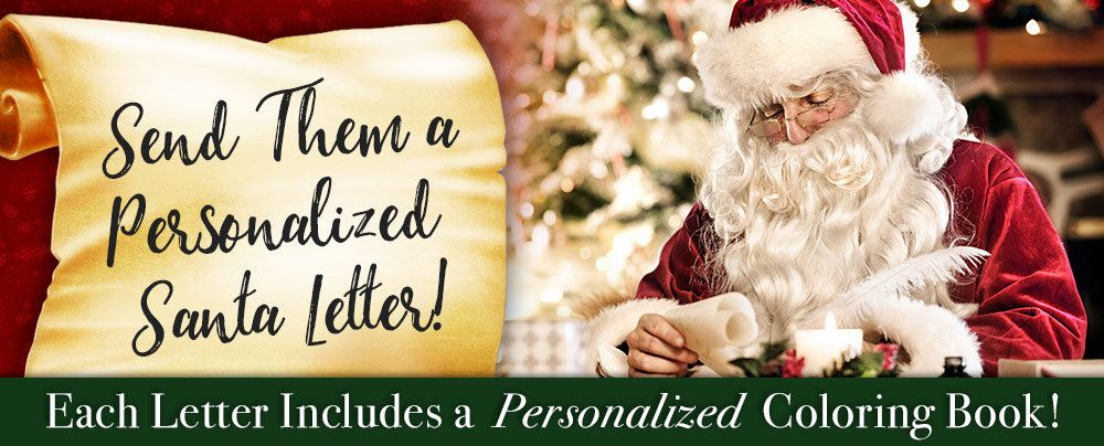 Shop Personalized Santa Letters