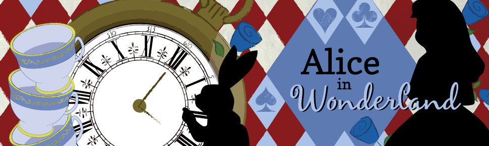 Alice in Wonderland Birthday Party Supplies