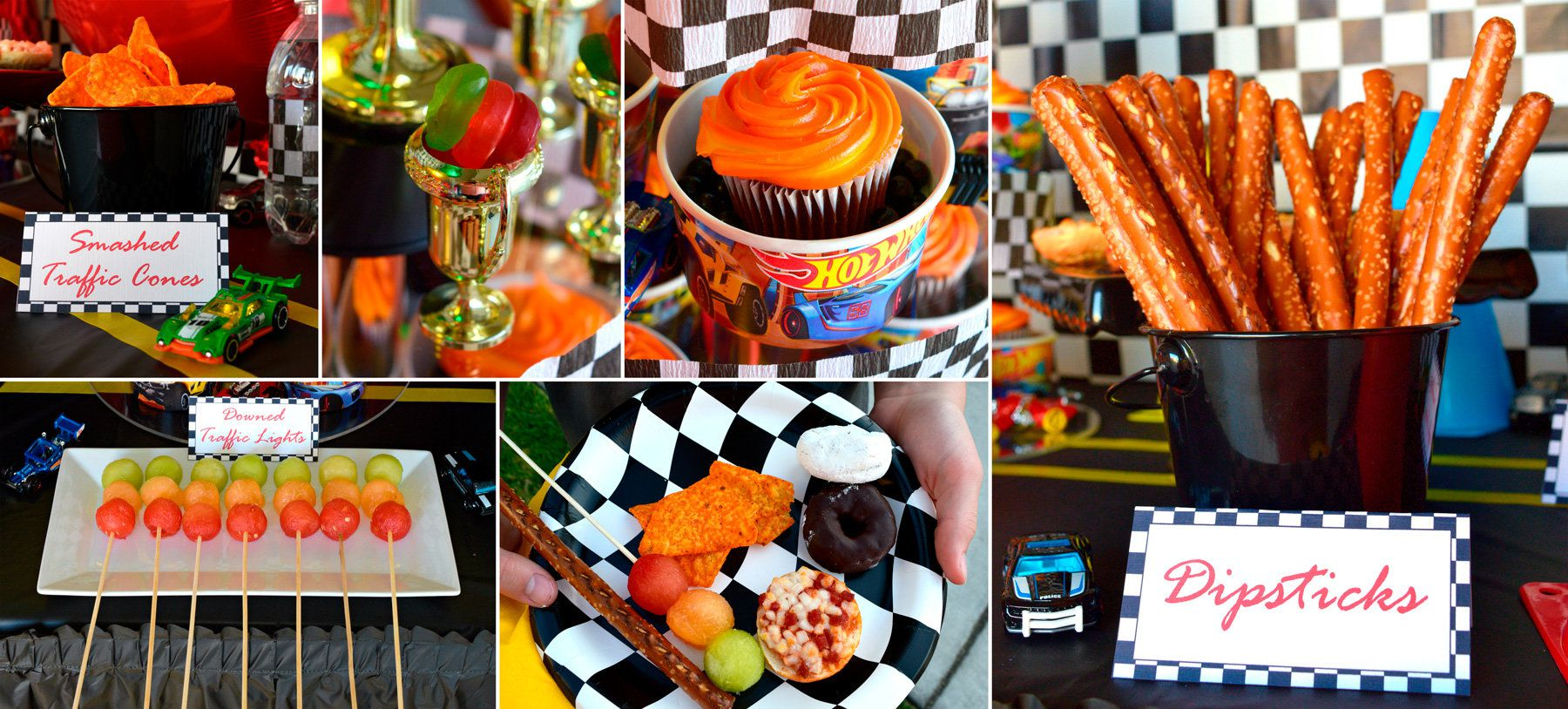 Hot Wheels Party Ideas | Birthday in a Box