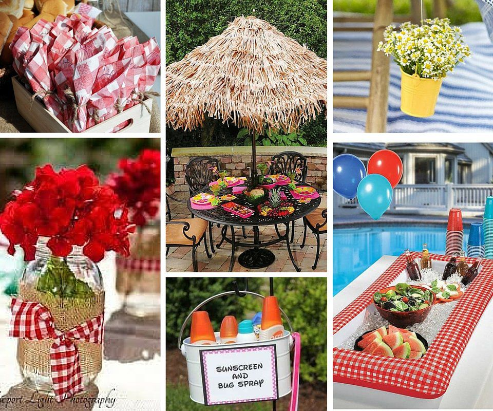 Decorating Food Ideas Bbq Party Decorations