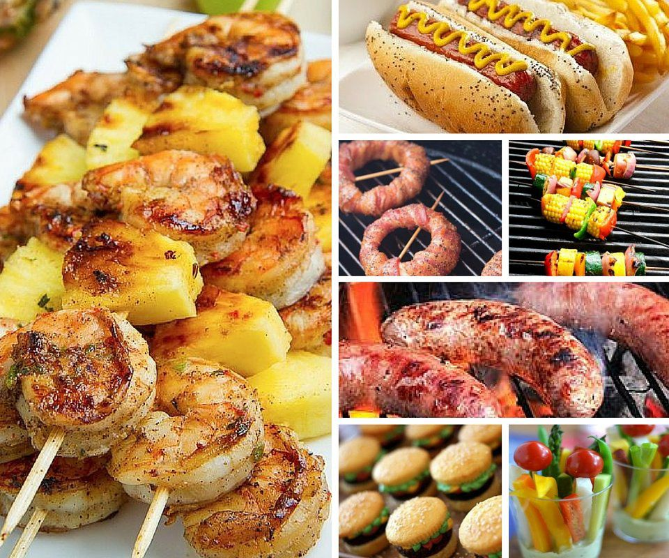 Bbq party menu ideas for Picnic food ideas for large groups