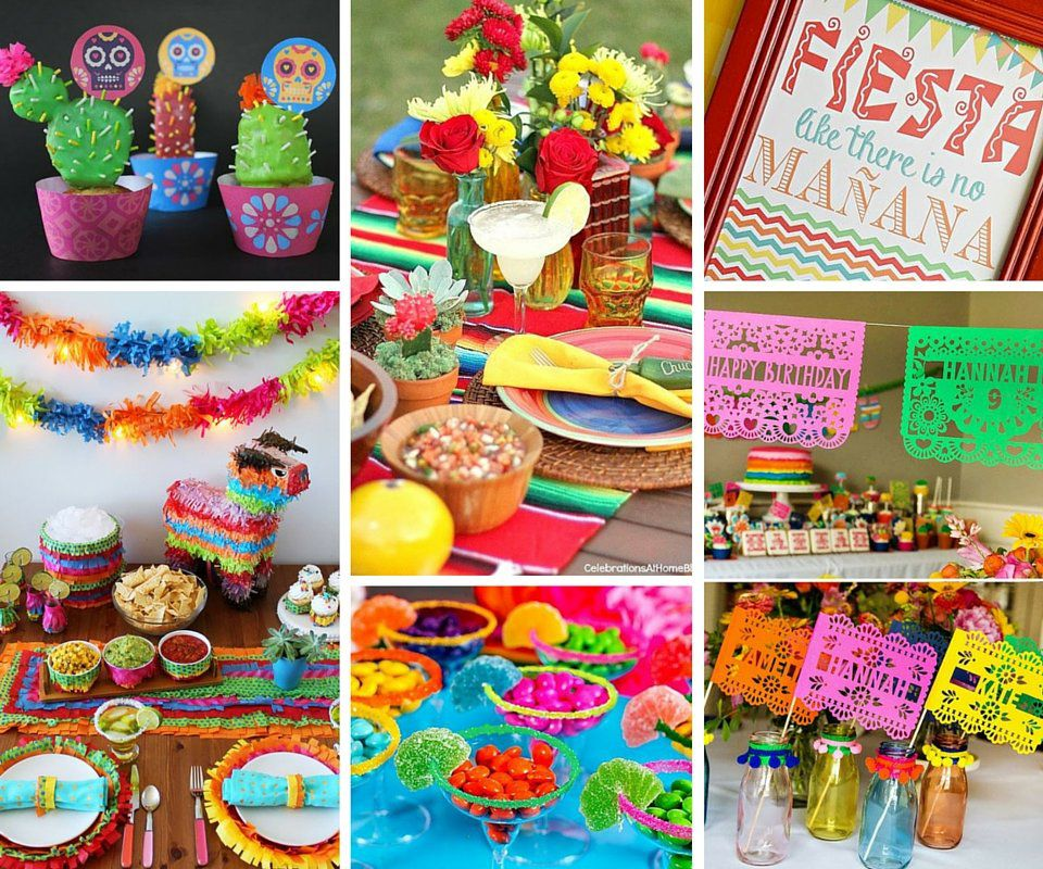 theme for your next event or are trying to plan a cinco de mayo