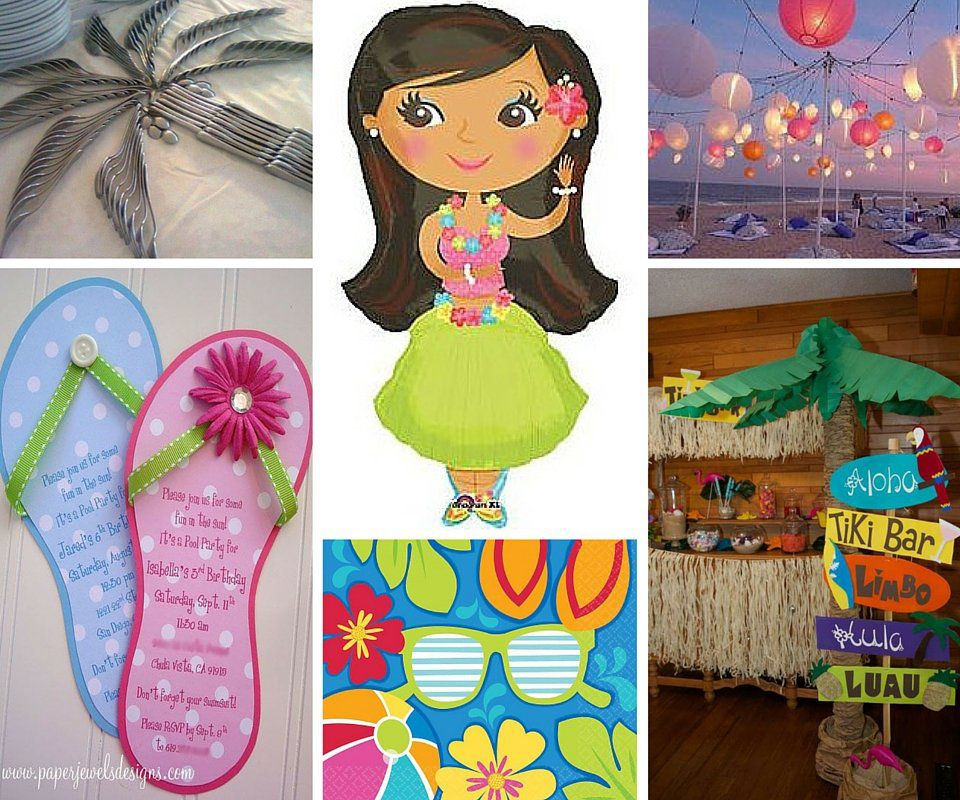 Make Your Childs Next Birthday Bash Feel Like A True Tropical Dream By Planning Hawaiian Luau Party Our Ideas Include General