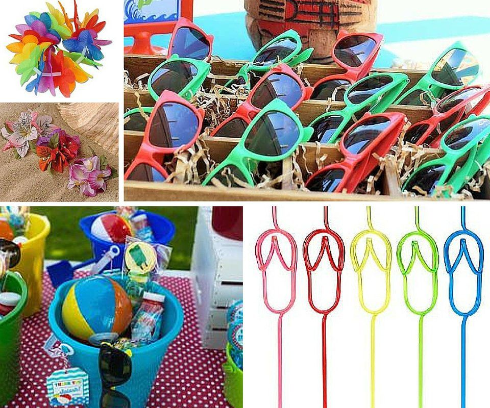 Luau Party Favor Ideas