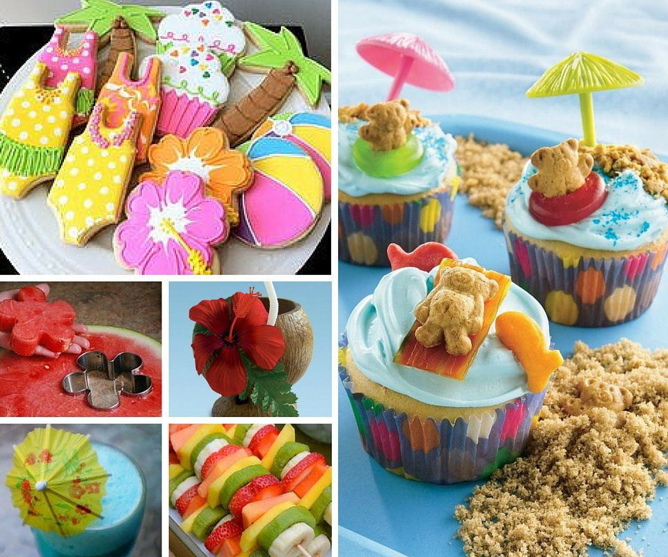 Luau Party Food Ideas