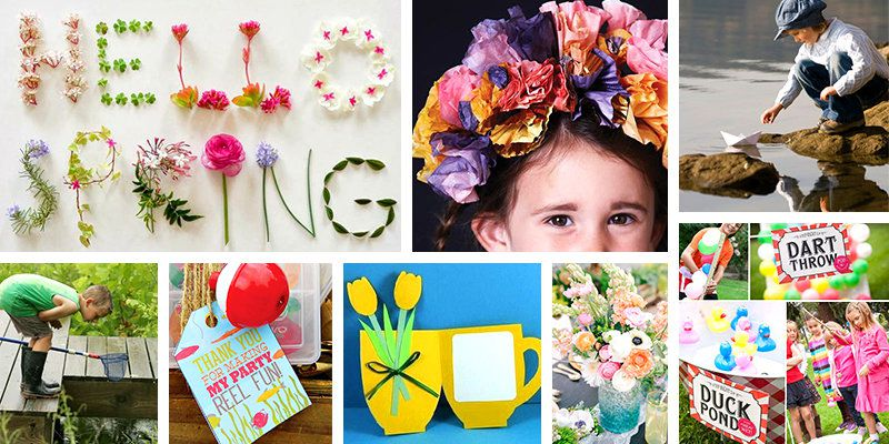 decorations - Spring Party Decorating Ideas
