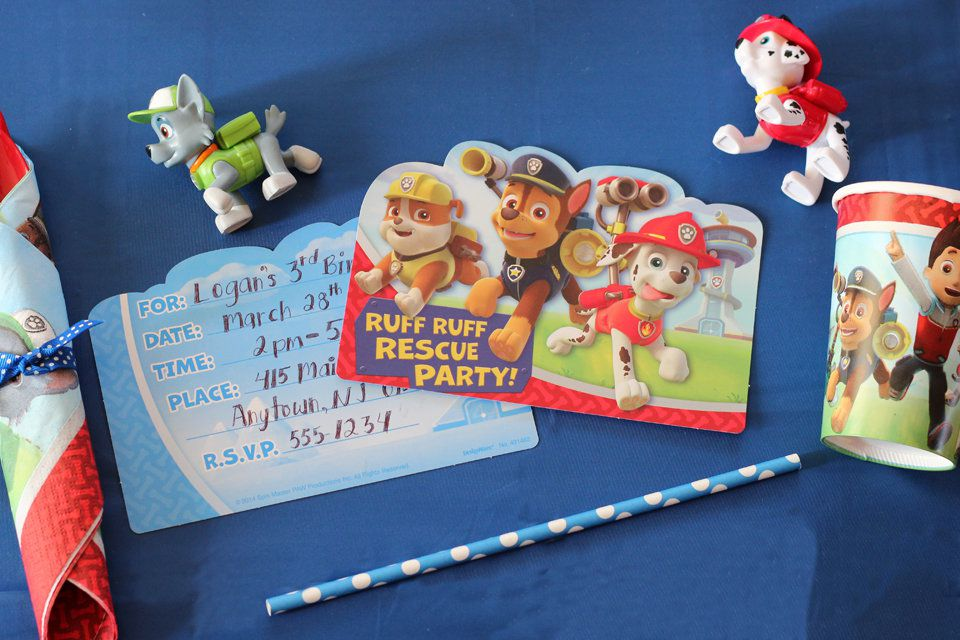Make Sure Guests Arrive At Your Childs Bash On The Double When You Send Out An Invite That Features Some Of Hit Nick Jr Shows Main Players