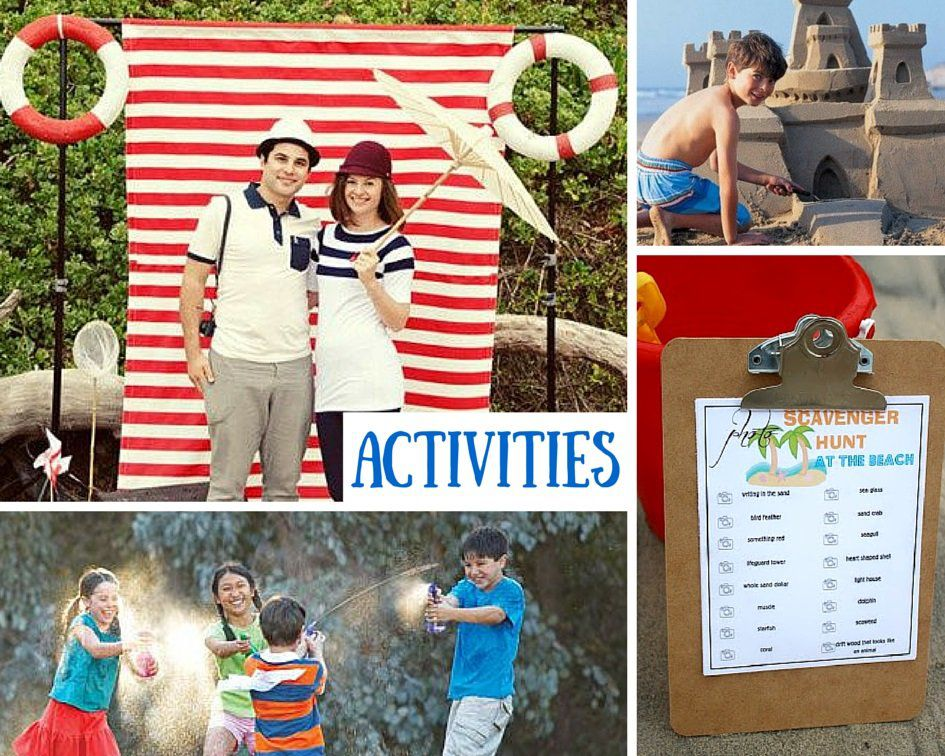 Beach Party Activity Ideas