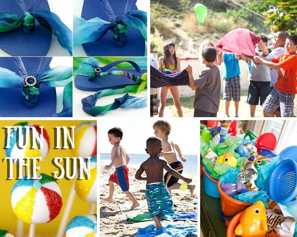 Beach Party Ideas For Kids Summer Party Ideas At Birthday