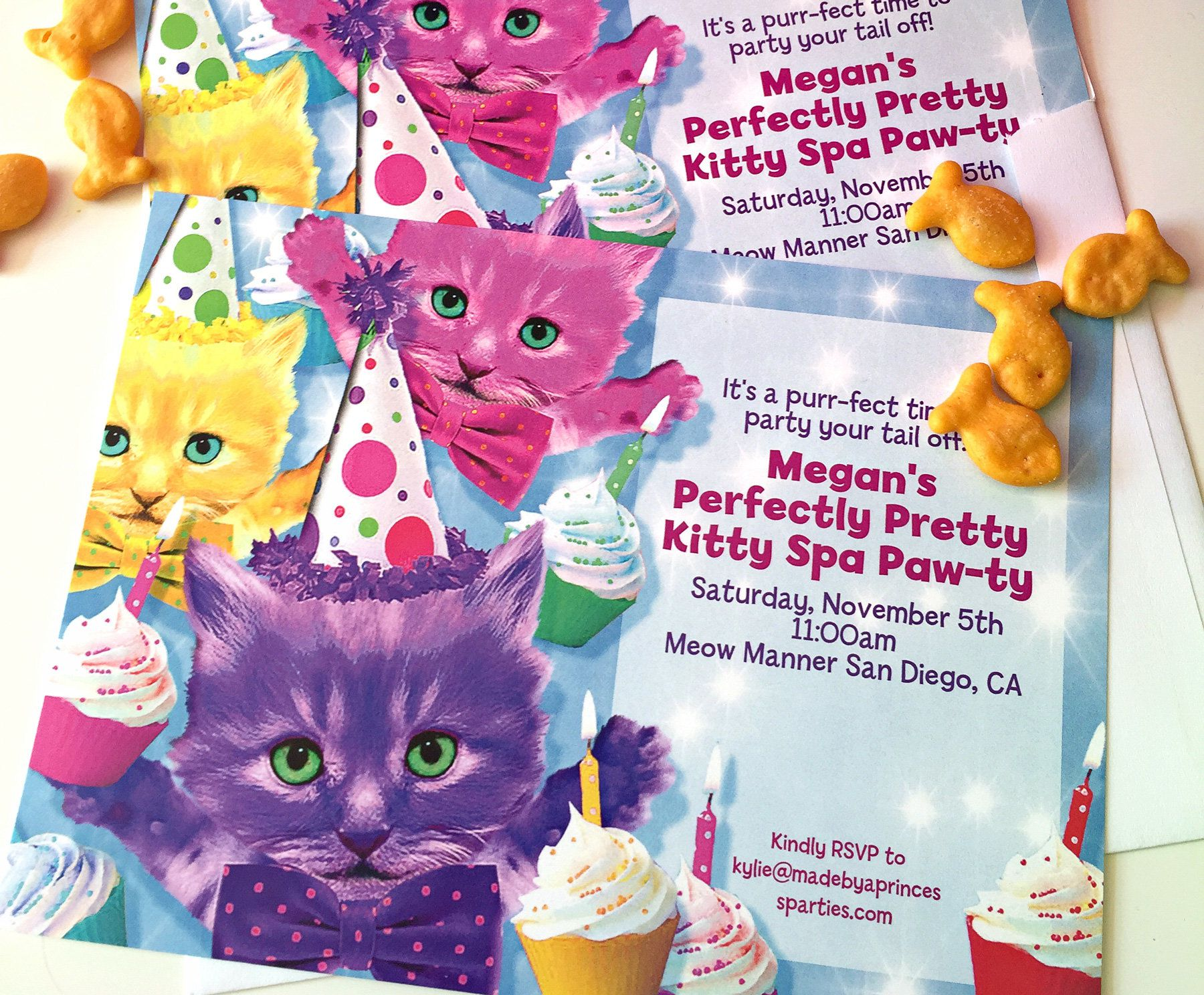 Party Cats Invitation