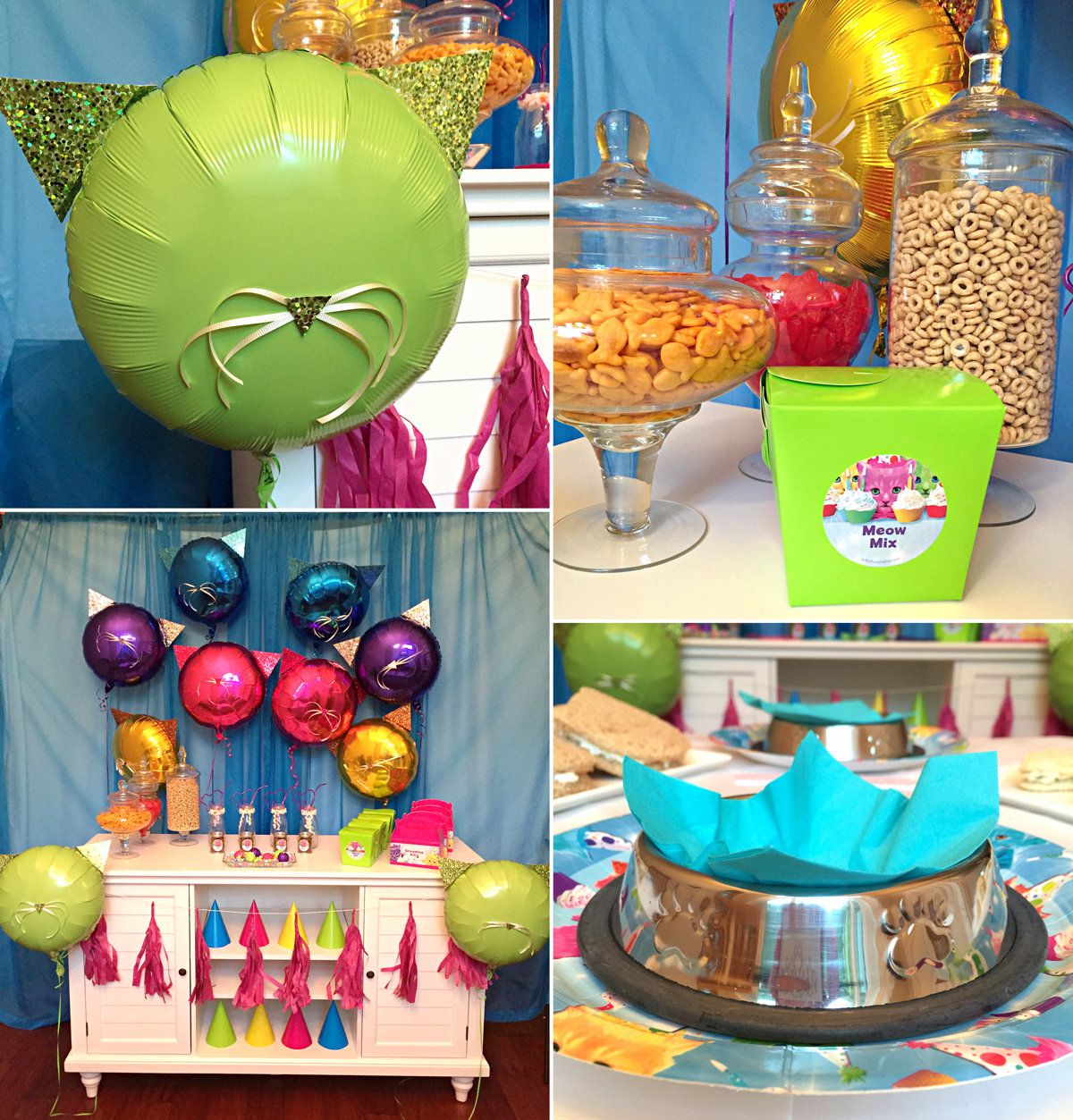 Party Cats Decorations