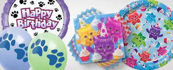 Party Cats Tableware