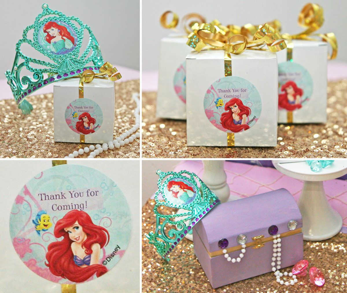 Little Mermaid Favors