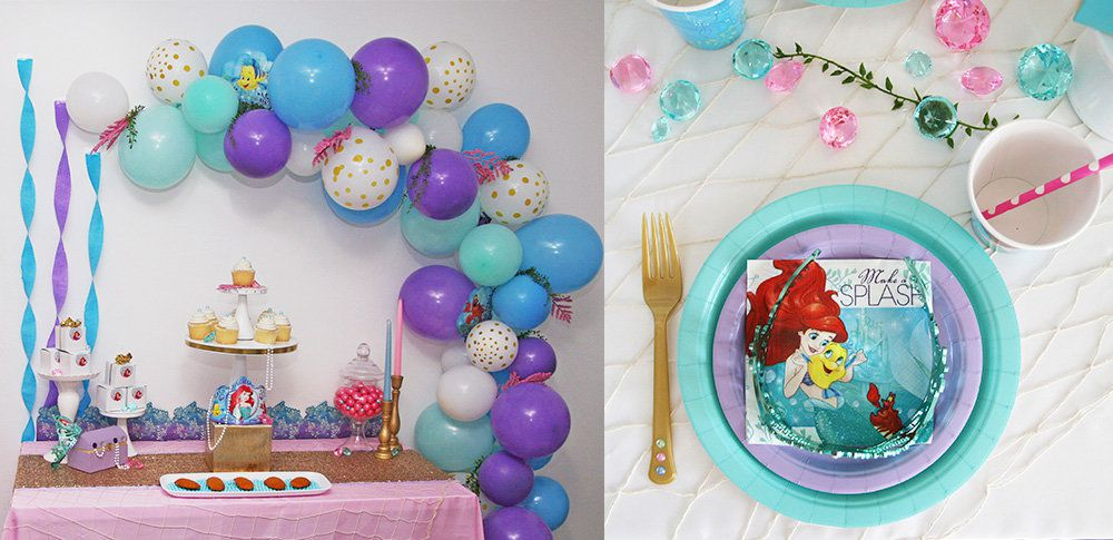 Little Mermaid Party Ideas Disney Party Ideas At Birthday In A Box