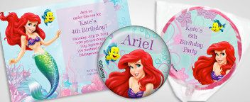 Little Mermaid Personalization