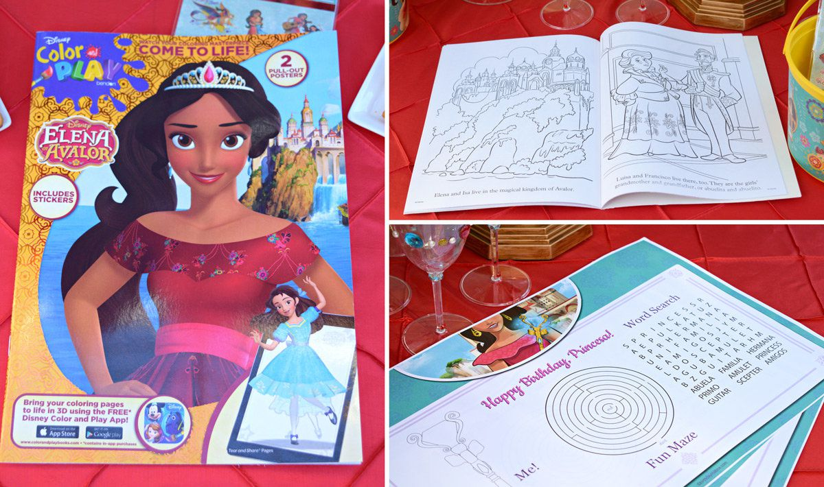 Elena of Avalor Party Activities