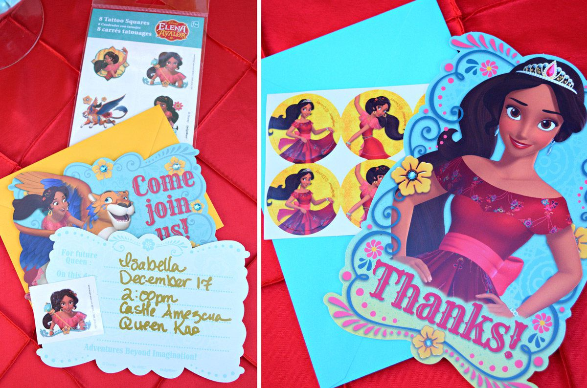 Elena Of Avalor Invitations
