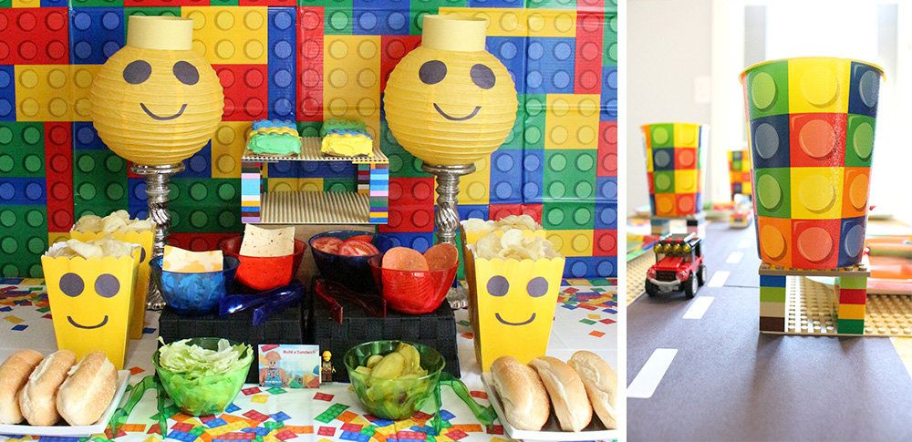 Lego Party Ideas | Lego Party Birthday Theme at Birthday in a Box